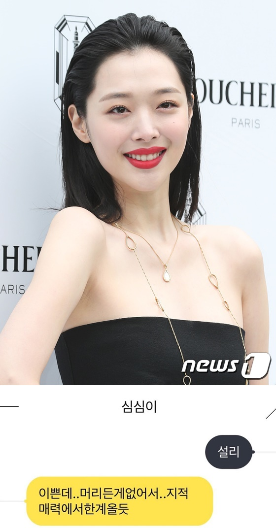 News 1 DB and Screenshot of Sulli's Instagram © News 1